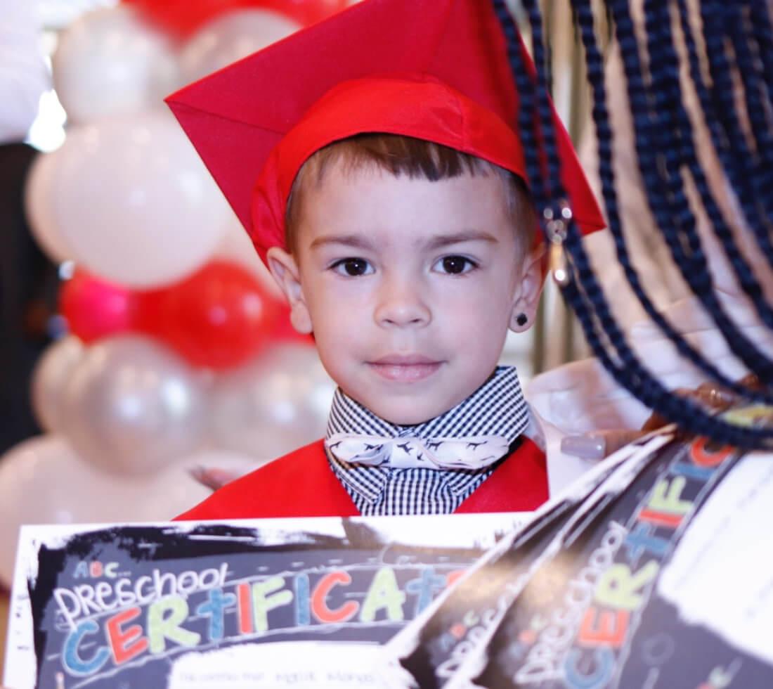 A graduated child