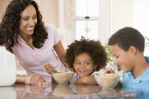 Encourage Your Child to Eat Breakfast Daily